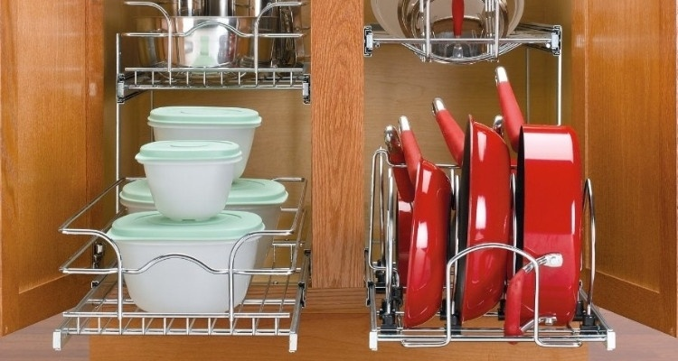 10 Best Pull Out Cabinet Organizers For, Under Cabinet Pot And Pan Organizer